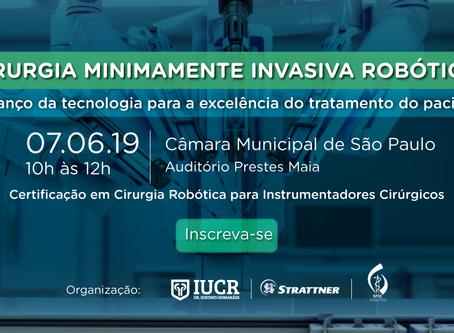 Evento - Cirurgia Robótica: o avanço da tecnologia para a excelência do tratamento do paciente