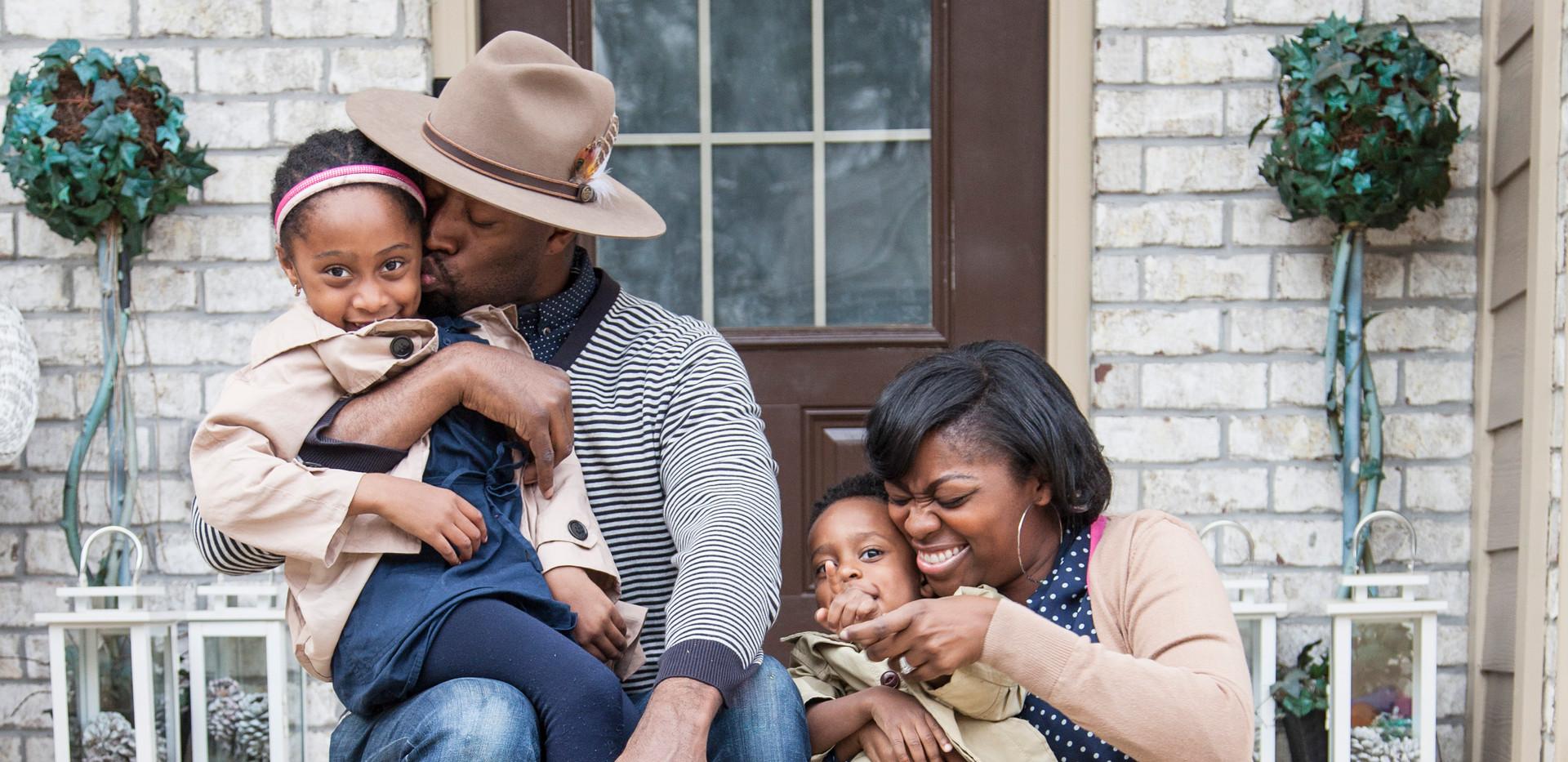 Carter Family Porch Portrait Session 7