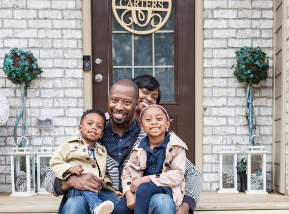 Carter Family Porch Portrait Session 5