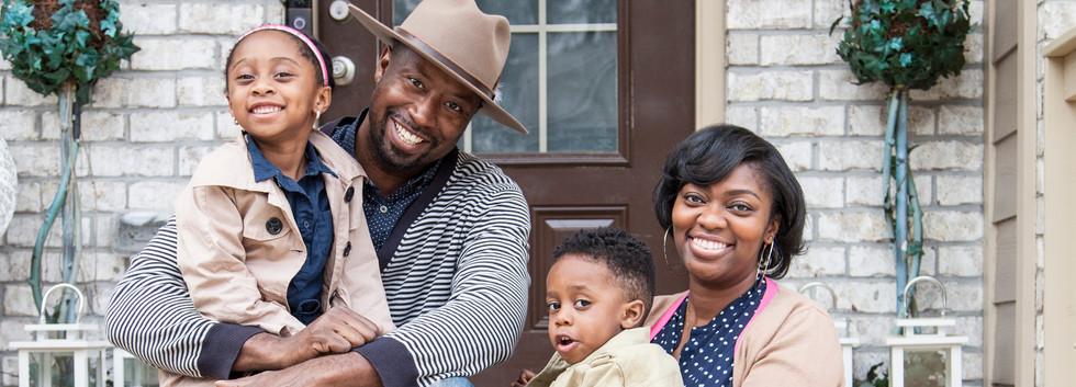 Carter Family Porch Portrait Session 6