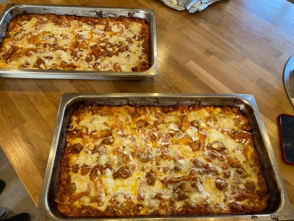 Our homemade Lasagne.