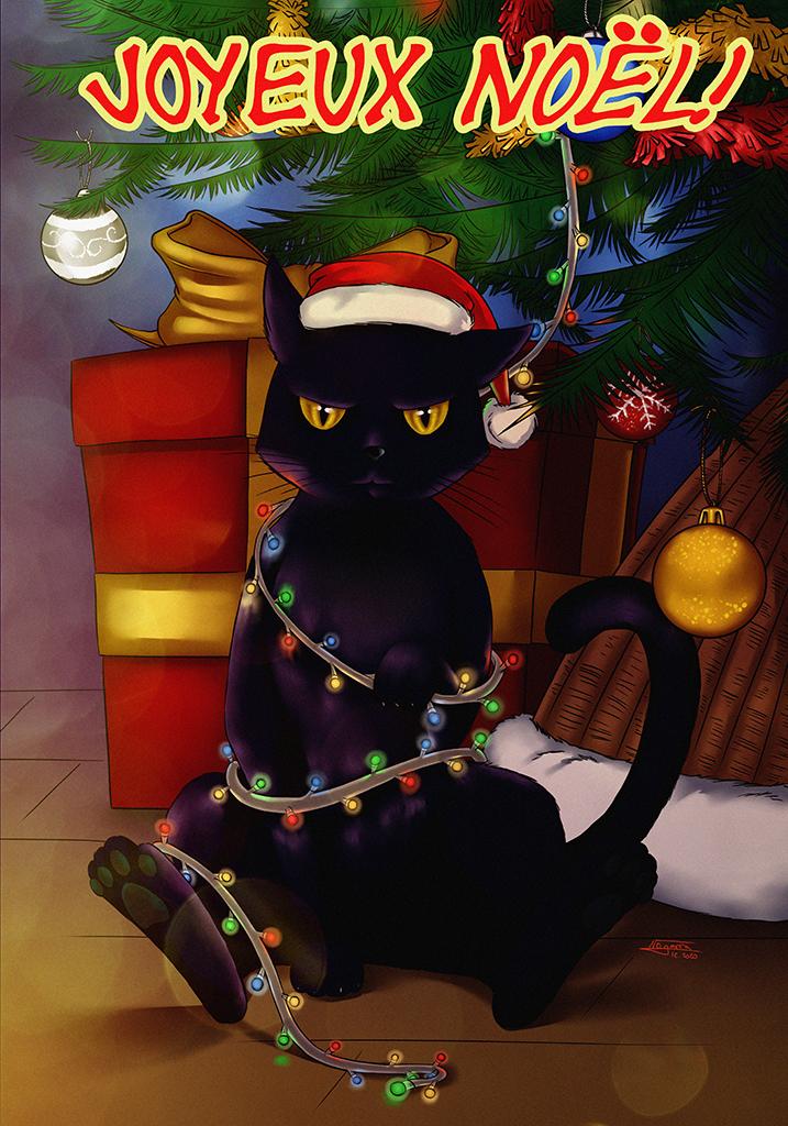 le chat de Noël 2020