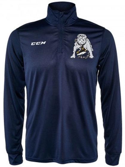 CCM Navy 1/4 Zip