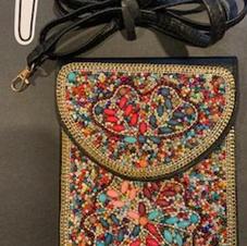 Beaded Crossbody Bag #1