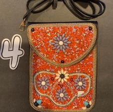 Beaded Crossbody Bag #4