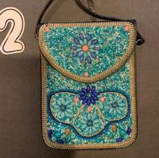 Beaded Crossbody Bag #2