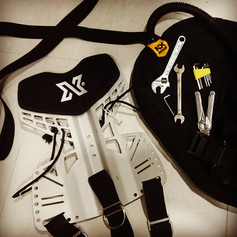 Equipment used at Diverse Scuba