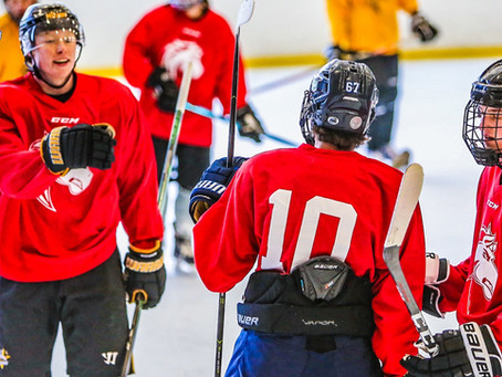 Day Two Recap | 2021 Ogden Mustangs July 16-18 Summer Tryout Camp | Weber County Ice Sheet