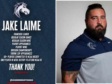 Thank you to Coach Jake Laime!