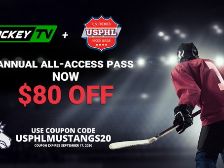 HockeyTV is the Official Internet Broadcast Provider of the USPHL and Ogden Mustangs Hockey