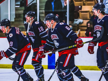 Mustangs swarm Seattle, now 1st place in the WSHL