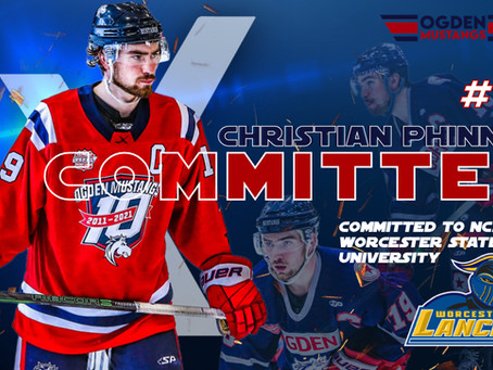 Captain Christian Phinney Commits to Worcester State University