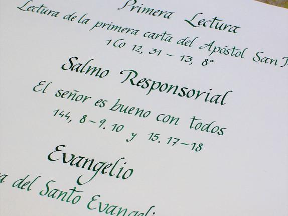 Libro Firmas y Misal