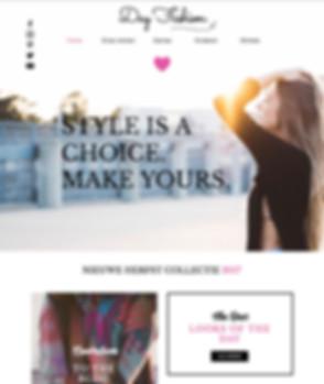Mode-website-Wix