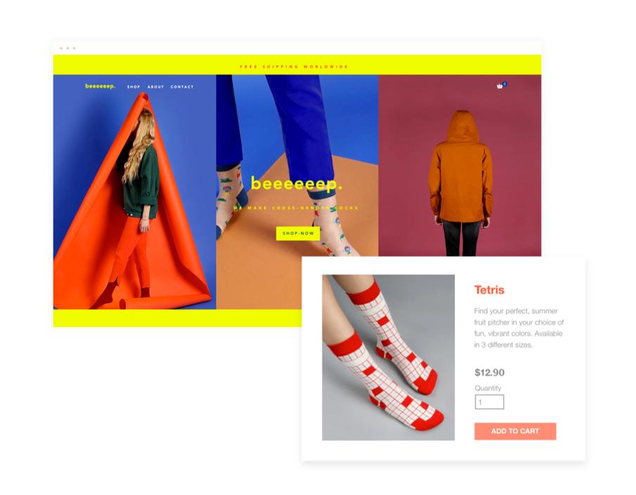 Indrukwekkende websites met Wix