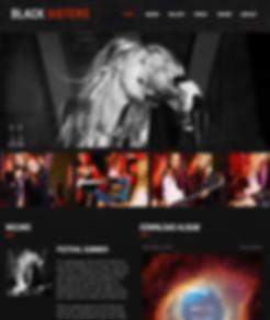 Muziek-website-Wix