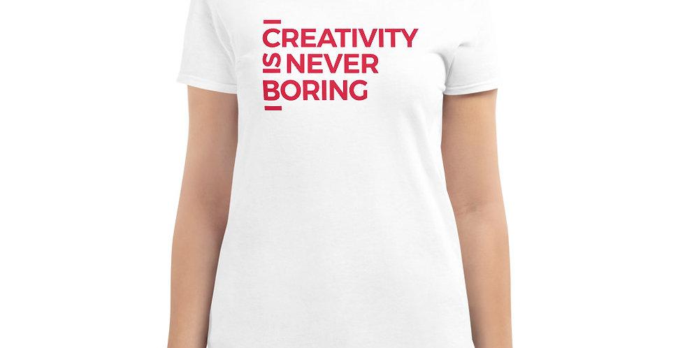 White t-shirt C.I.N.B Red