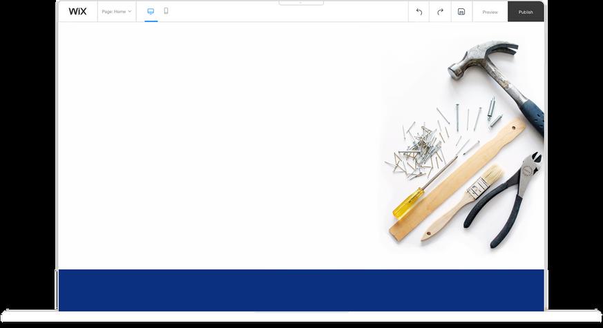 Hulp bij Wix website