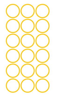 Graphic Elements — Circle — Gold — Outli