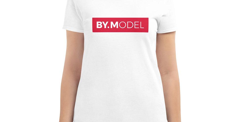 White t-shirt BY.MODEL Block
