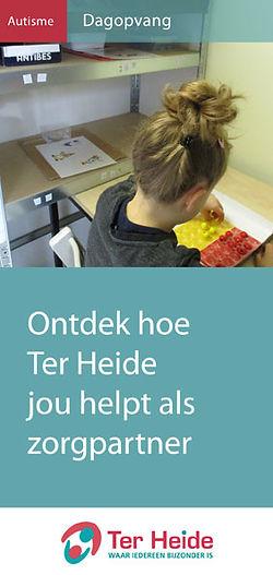 Folder Autisme. Ontdek hoe Ter Heide jou helpt als zorgpartner.