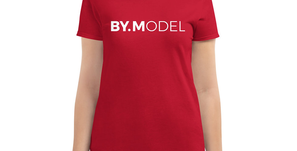 Red t-shirt BY.MODEL