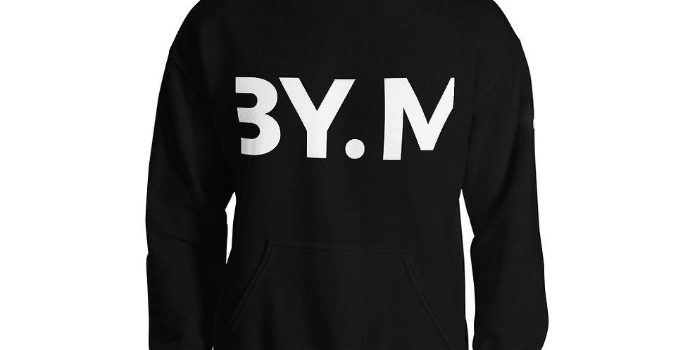 Black hoodie BY.M cut