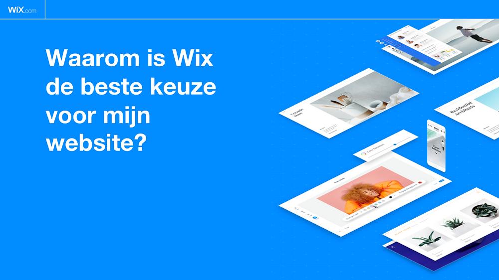 Wix de beste keuze voor een website