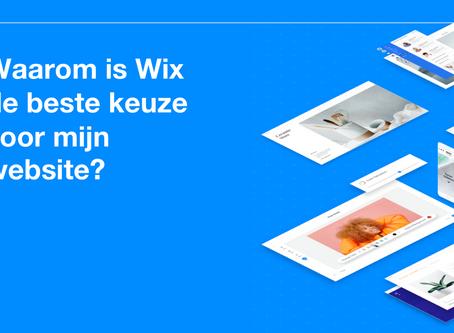 Waarom is Wix de beste keuze voor mijn website?