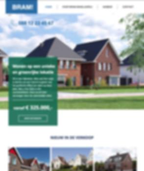 Vastgoed website Wix