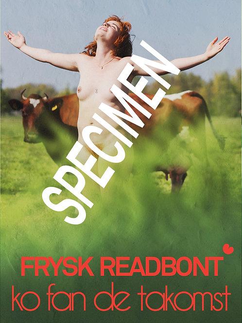 Poster Fryske readbonte ko
