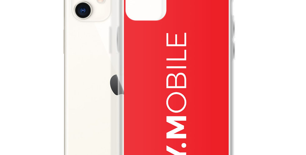 Red iPhone Case BY.MOBILE