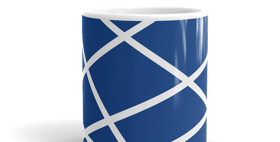 Blue Mug Stripes