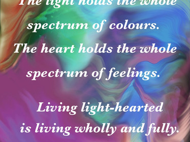 Rebirthing All The Colours Of The Rainbow