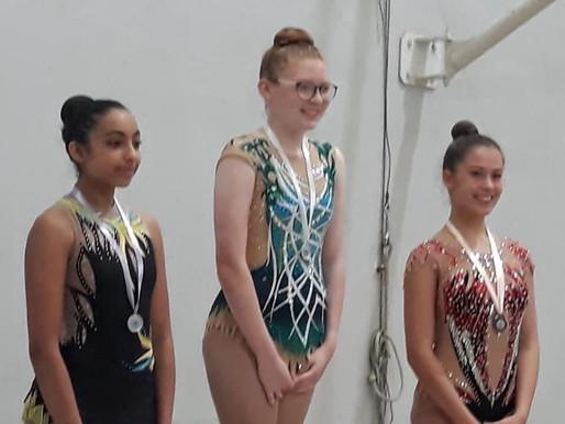 Grade 9 gymnast wins 1st place