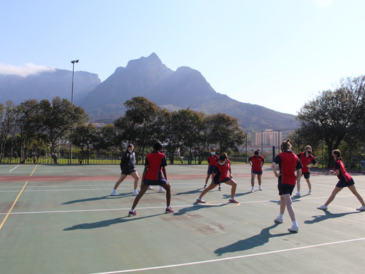 Cannons compete against RGHS Netballers