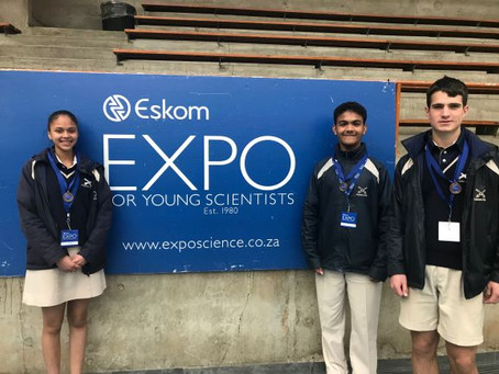 HS Young Scientists win Bronze medals at Expo.