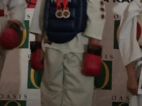 Karate kid at Cannons Creek