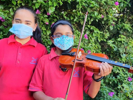 Budding violinists pass Grade 1 ABRSM exams