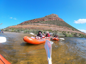 Grade 12s take on the Breede River