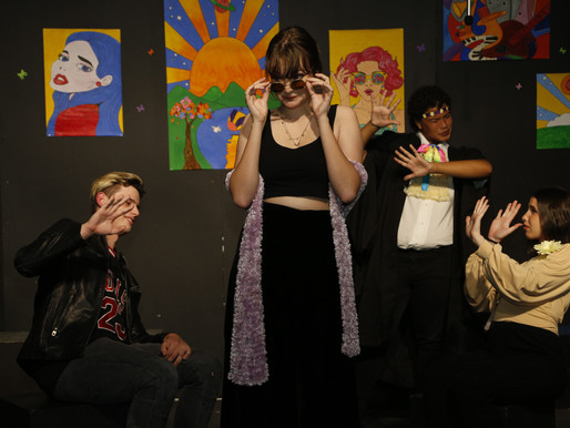 Pupils perform in High School Production