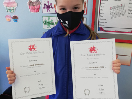 Primary School wins at Art Eisteddfod
