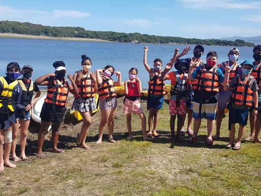 Grade 6s enjoy camp at Wortelgat