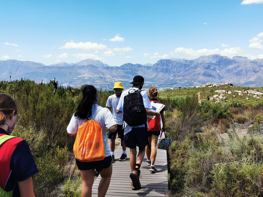 Cannons Creek Grade 10 Class heads to Paarl Rock
