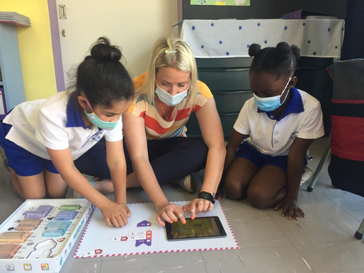 Grade 1s expand upon Coding knowledge