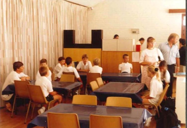 Std 3 & 4 classroom.