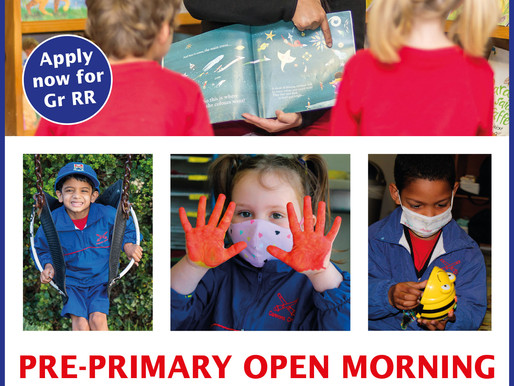 Cannons Pre-Primary to hold OPEN MORNING