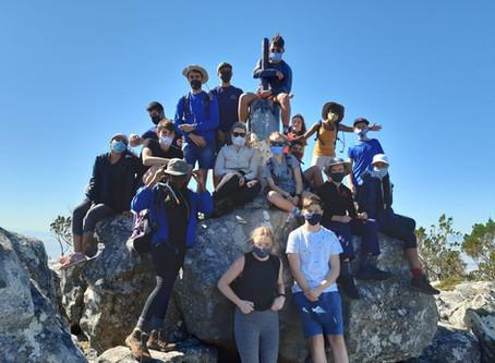 HS pupils hike Devil's Peak