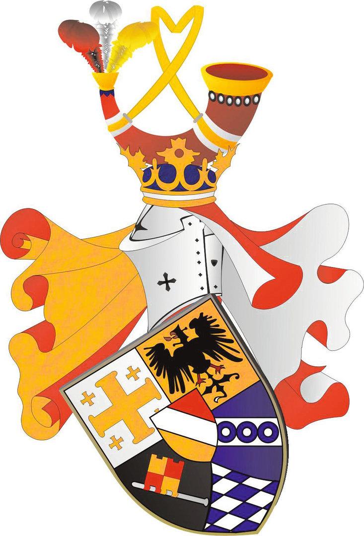 Wappen der Wingolfsverbindung Chattia zu Würzburg
