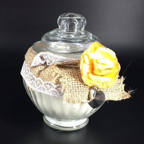 Bougie Luna 300ml Rose et fleur de pommier